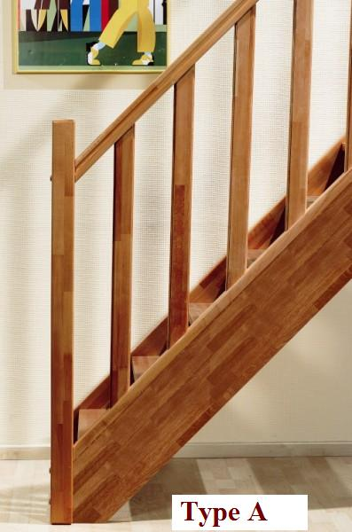 Balustrade hout maken