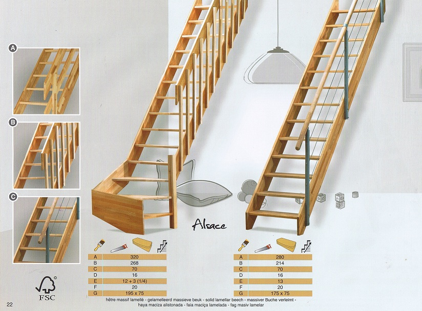 Bouwpakkettrappen doe het zelf trappen houten trappen en for Metalen trap maken